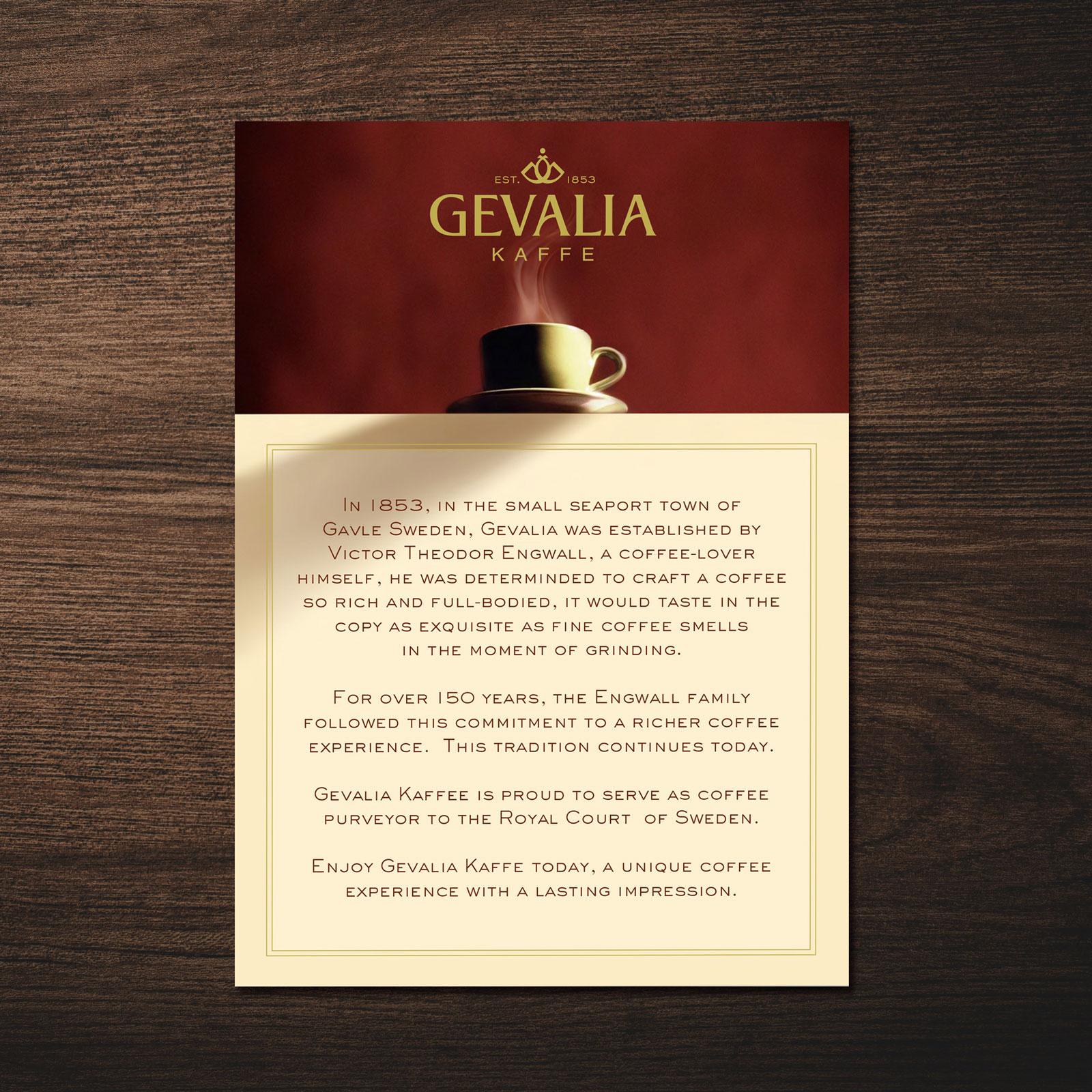 Coffee Brand Identity – Gevalia