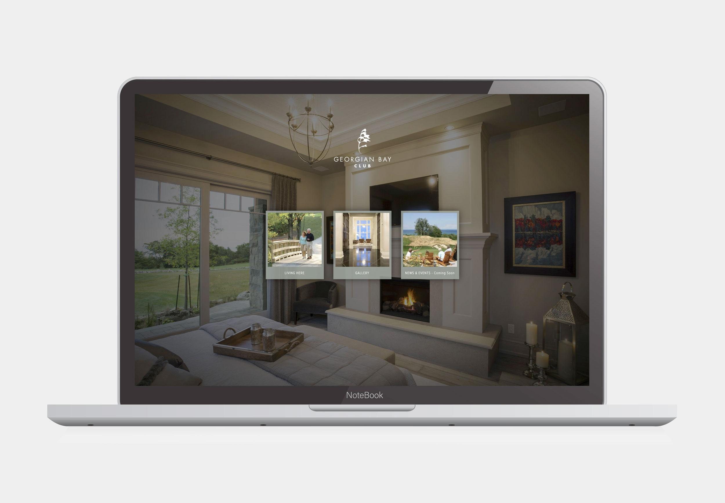 Home Builder Website Design – Georgian Bay Club Residences