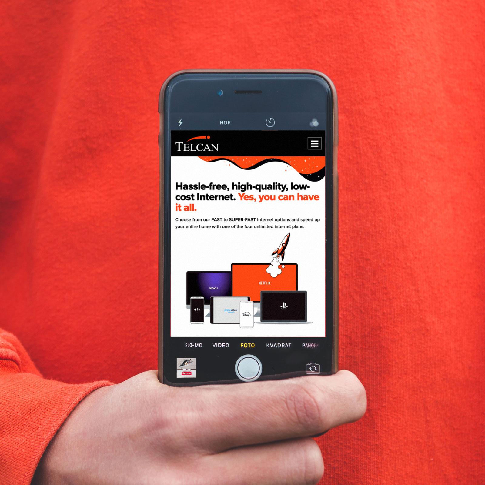 Website Design & Development – Telcan Communications